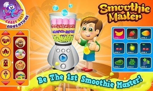 Скриншот Smoothie Maker Crazy Chef Game для Android