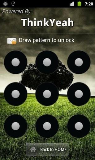 Скриншот SMS Lock / Пароль на смс-ки для Android