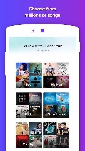 Скриншот Smule (Приложение Для Пения) для Android