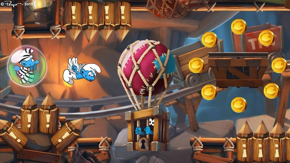Скриншот Smurfs Epic Run для Android