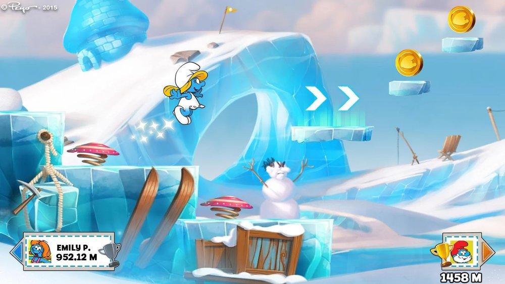 Скриншот Smurfs Epic Run для Android