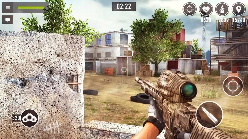 Скриншот Снайпер Арена для Android