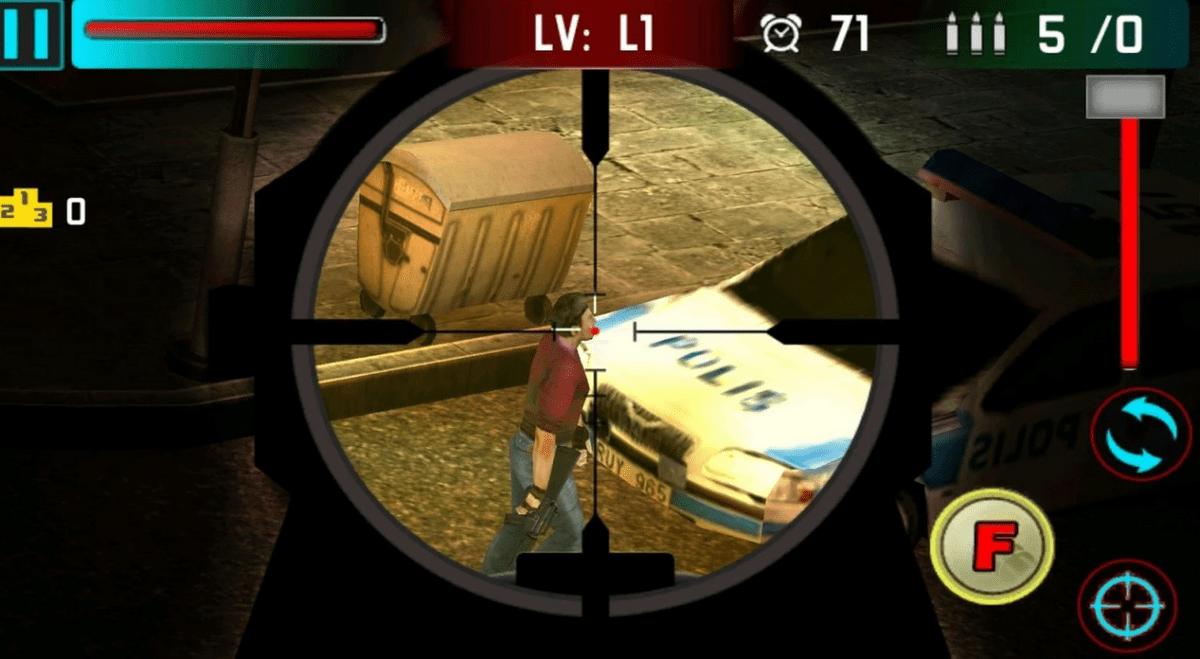 Скриншот Снайпер Shoot War 3D для Android