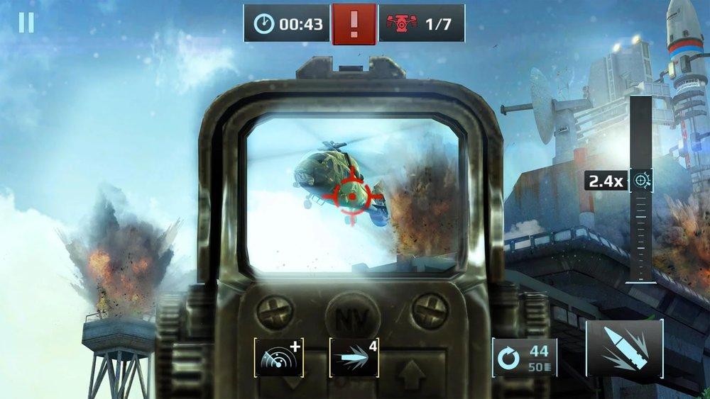 Скриншот Sniper Fury для Android