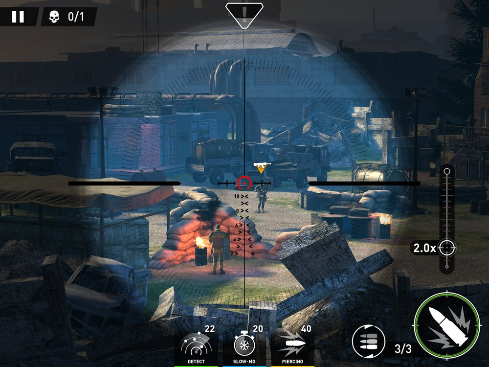 Скриншот Sniper: Ghost Warrior для Android