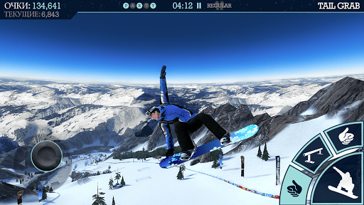 Скриншот Snowboard Party Lite для Android