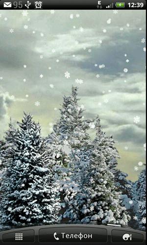 Скриншот Snowfall для Android