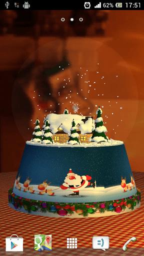 Скриншот Snow Globe 3D для Android
