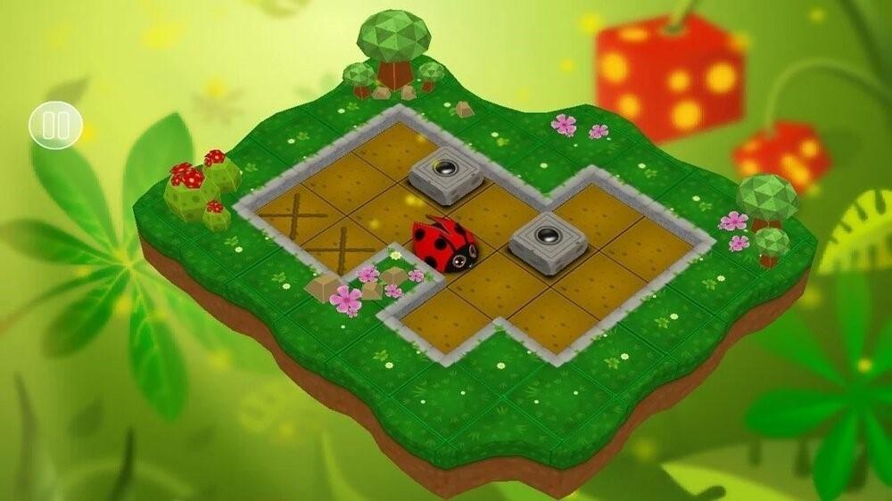 Скриншот Sokoban Garden 3D для Android