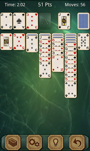 Скриншот Solitaire Free для Android