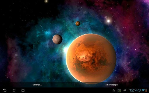 Скриншот Солнечная система HD / Solar system HD Free для Android