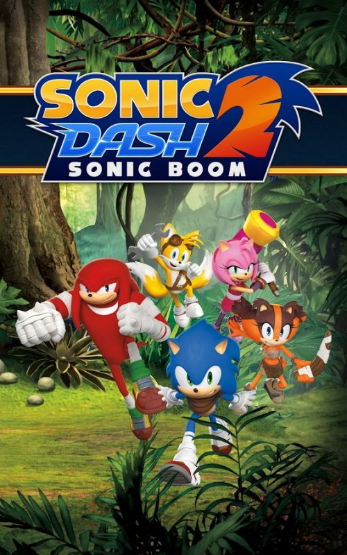 Скриншот Sonic Dash 2: Sonic Boom для Android