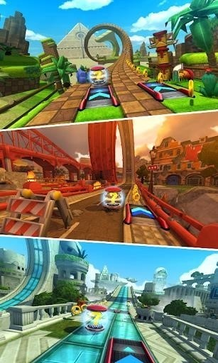 Скриншот Sonic Forces: Speed Battle для Android