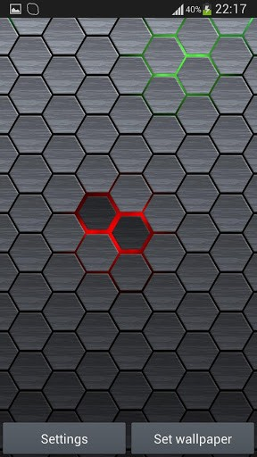 Скриншот Соты 2 Живые Обои Бесплатно для Android
