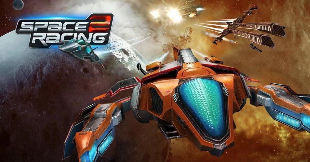 Скриншот Space Racing 2 для Android