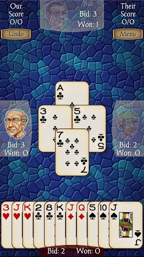 Скриншот Spades Free для Android