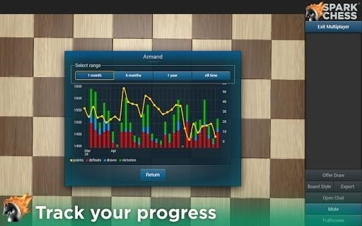Скриншот SparkChess Pro для Android