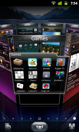 Скриншот Spb shell 3D для Android