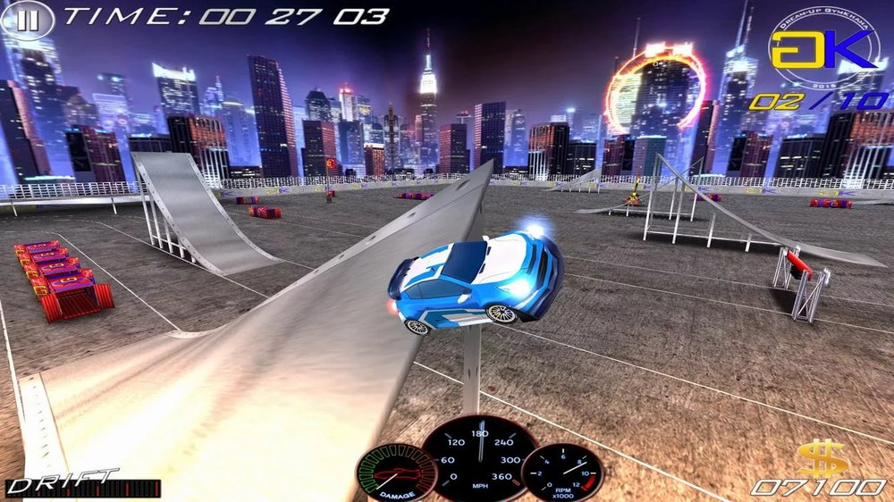 Скриншот Speed Racing Ultimate 3 для Android