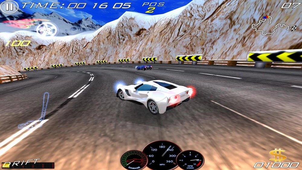 Скриншот Speed Racing Ultimate 3 для Android