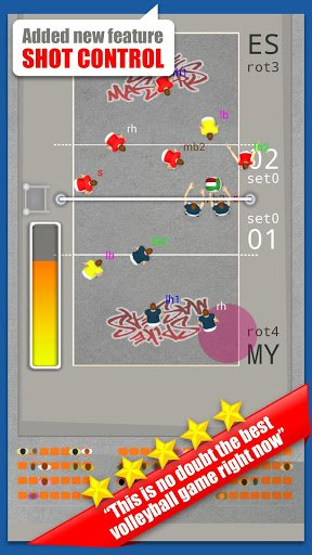 Скриншот Spike Masters Volleyball для Android