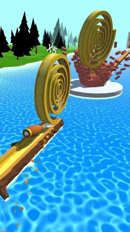 Скриншот Spiral Roll для Android
