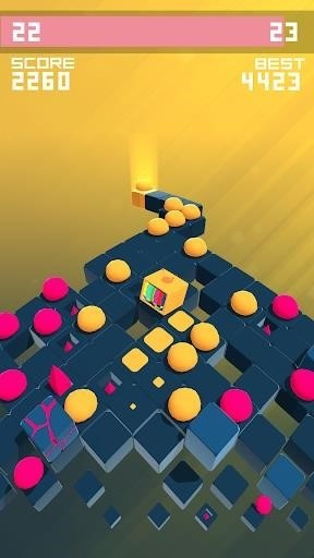 Скриншот Splashy Cube: Color Run для Android