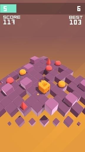 Скриншот Splashy Cube: Color Run для Android