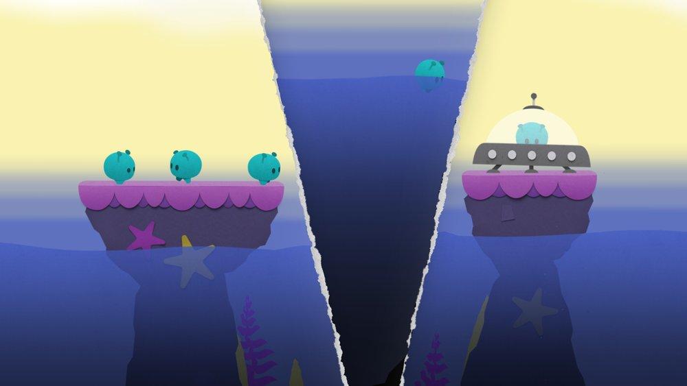 Скриншот Splitter Critters для Android