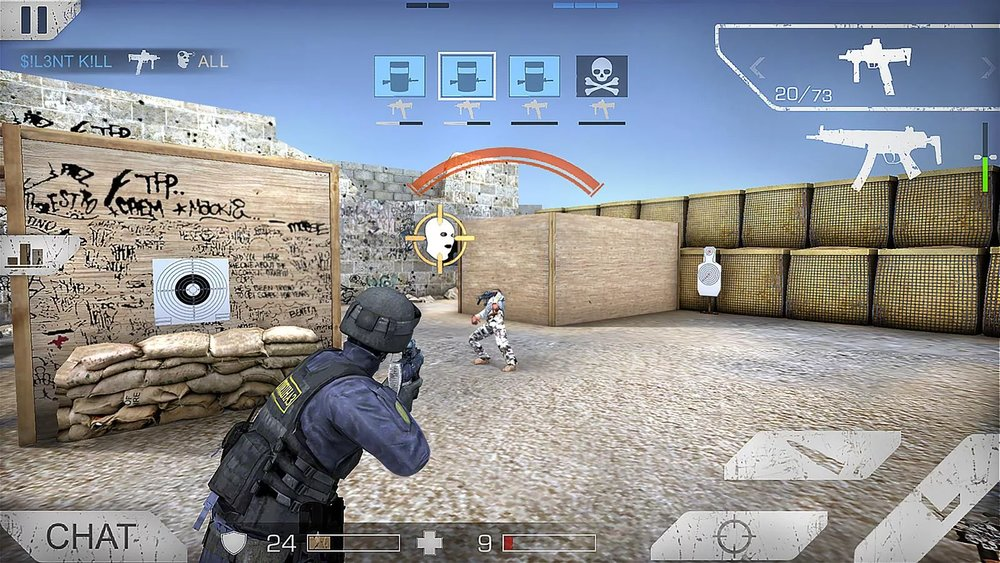 Скриншот Standoff: Multiplayer для Android