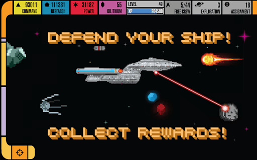 Скриншот Star Trek™ Trexels для Android