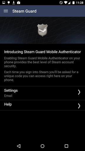 Скриншот Steam для Android