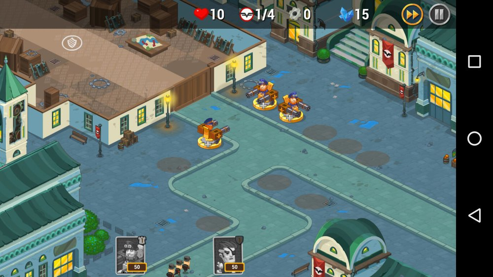 Скриншот Steampunk syndicate для Android