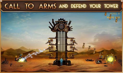 Скриншот Steampunk Tower для Android