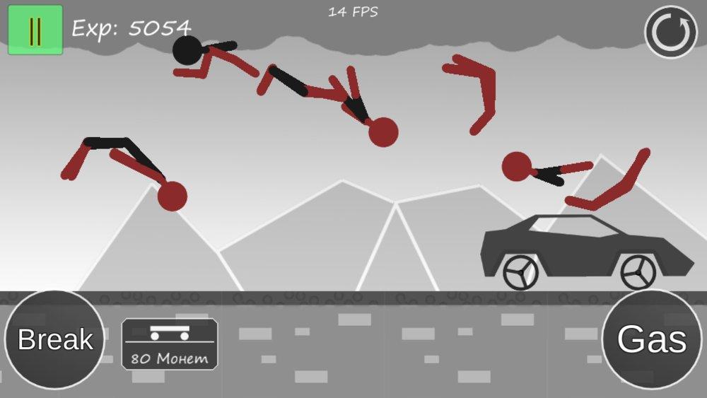 Скриншот Stickman Annihilation для Android
