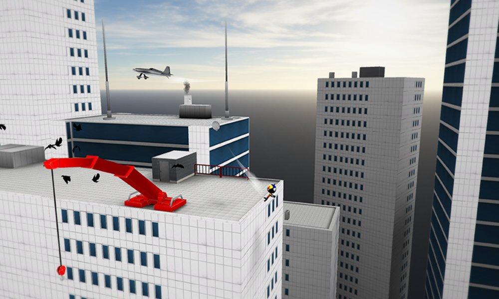 Скриншот Stickman Base Jumper 2 для Android