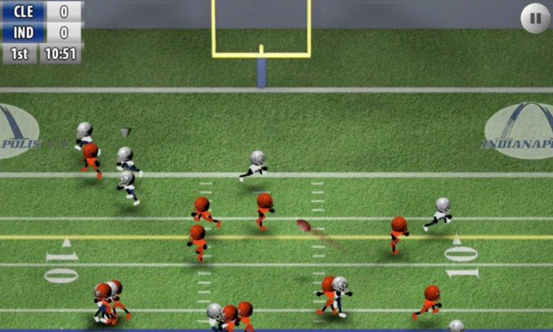 Скриншот Stickman Football для Android