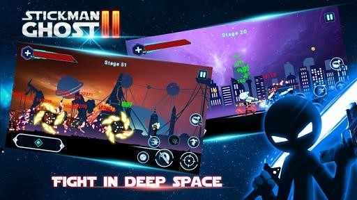 Скриншот Stickman Ghost 2 для Android