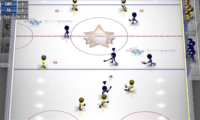 Скриншот Stickman Ice Hockey для Android
