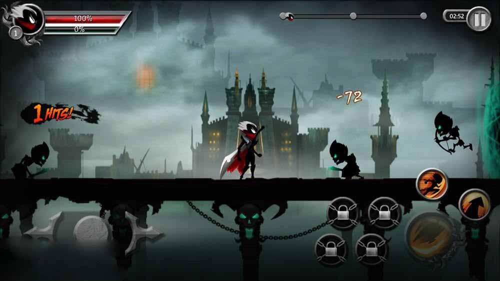 Скриншот Stickman Legends для Android