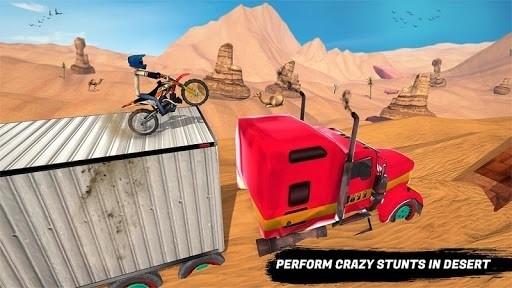 Скриншот Stickman Motocross для Android
