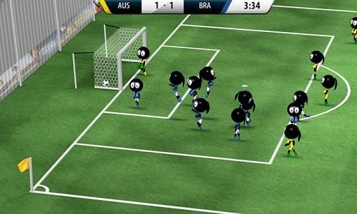Скриншот Stickman Soccer 2016 для Android