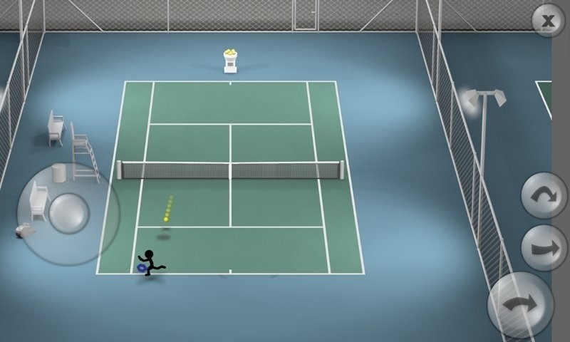 Скриншот Stickman Tennis для Android