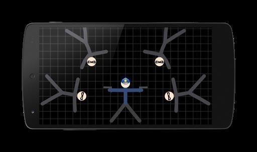 Скриншот Stickman Warriors для Android