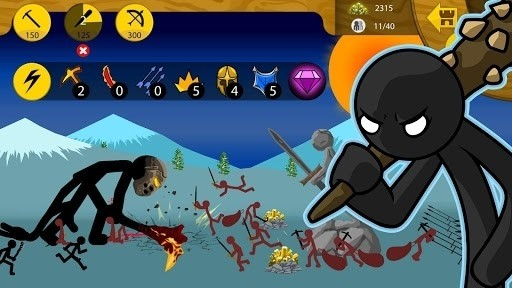 Скриншот Stick War: Legacy для Android
