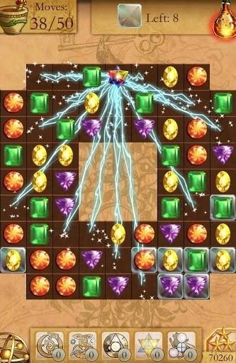 Скриншот Столкновение Diamonds — Матч 3 для Android