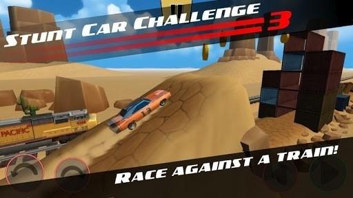 Скриншот Stunt Car Challenge 3 для Android