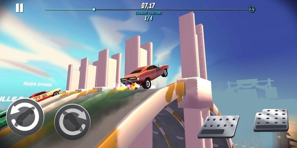 Скриншот Stunt Car Extreme для Android