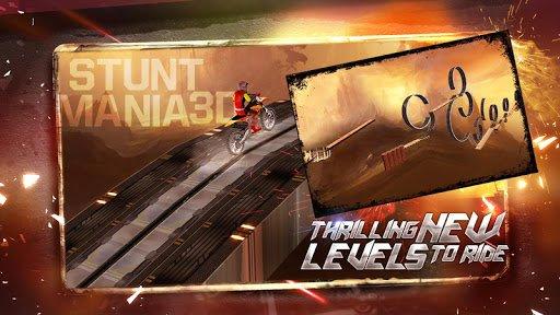 Скриншот Stunt Mania 3D для Android