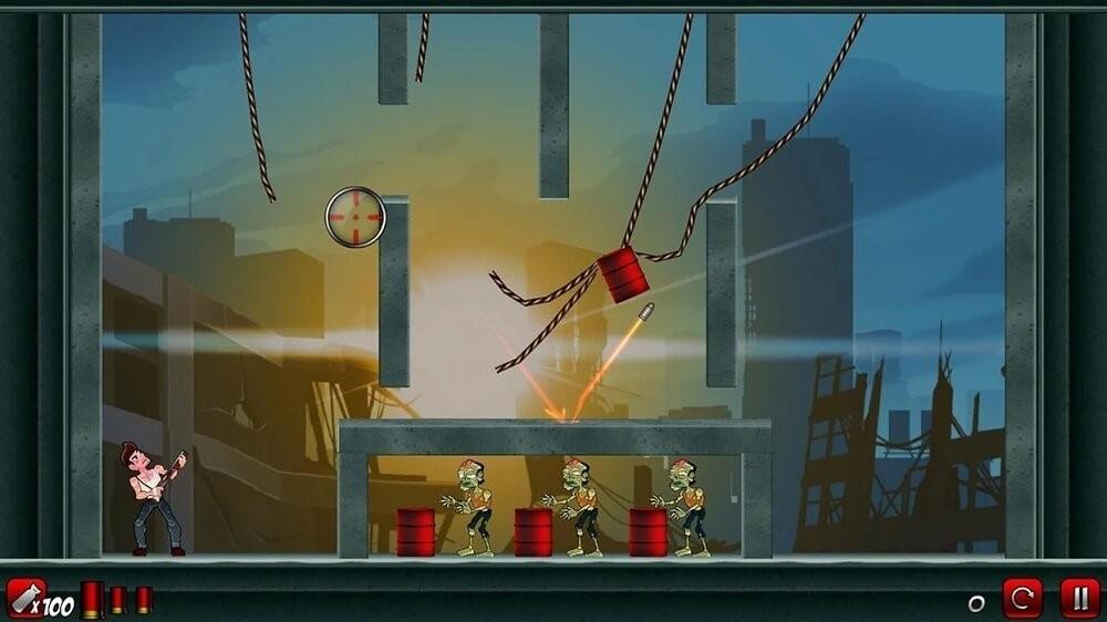 Скриншот Stupid Zombies 2 для Android